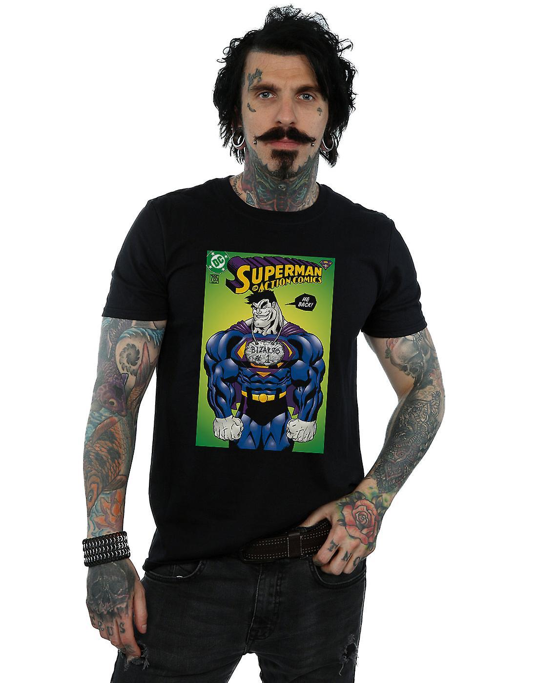 DC Comics Men's Superman Bizarro Action Comics 785 Cover T-Shirt