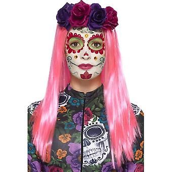 Day of the Dead Sweetheart Make-Up Kit, NEON