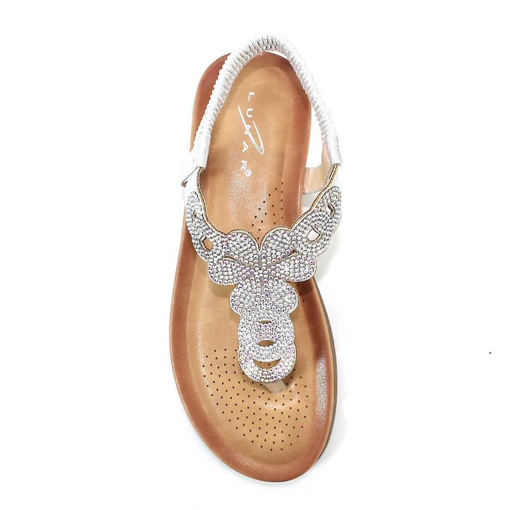 Lunaire Edwina Gemstone Sandal