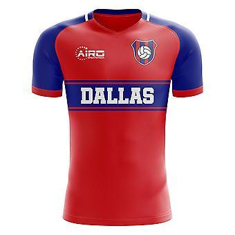 2020-2021 Dallas Home Concept Football Shirt - Kids