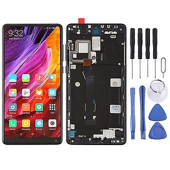 Per Xiaomi MI MIX 2 riparazione display unità completa LCD touch con la sostituzione del telaio nero