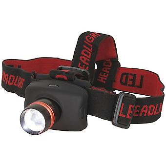 TechBrands 260 Lumen LED Head Torch w/ Adjustable Beam
