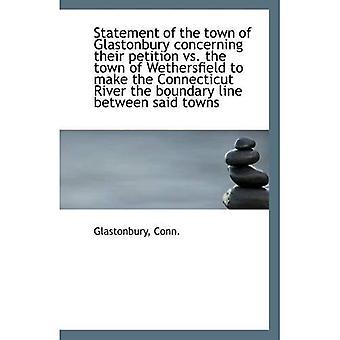 Selvitys Glastonburyn koskevan vetoomuksensa vs. Wethersfield kaupunki tehdä