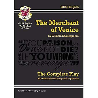 Grade 9-1 GCSE anglais The Merchant of Venice - le jeu complet