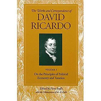 Travaux et correspondance de David Ricardo: sur les principes d'économie politique et de la fiscalité, c. 1