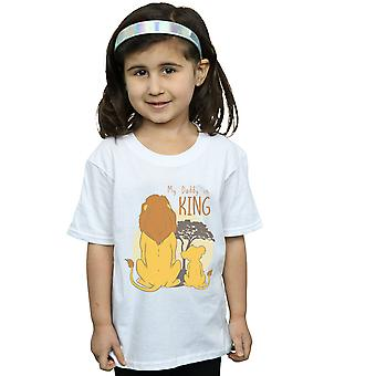 Disney Girls The Lion King My Daddy Is King T-Shirt