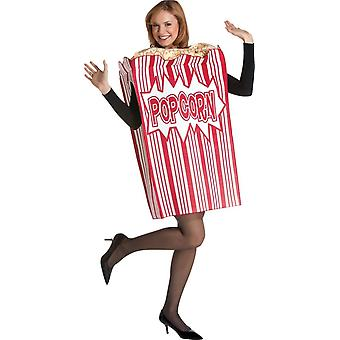 Popcorn aikuisten puku