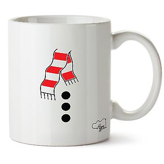 Hippowarehouse Fancy Dress Snowman 10oz Mug Cup