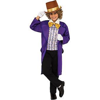 Fantasia infantil de Willy Wonka