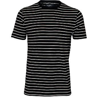 French Connection Crew-Neck Breton T-Shirt, Marine
