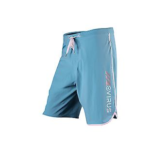 Virus Mens Airflex Training Shorts - Blue/White - fitness mma training