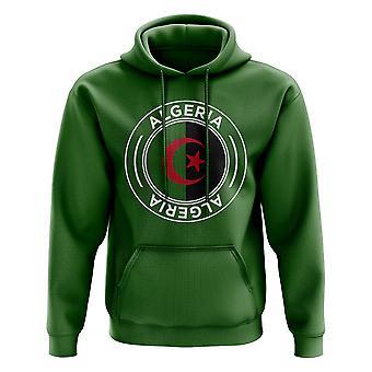 Algérie Football Badge Hoodie (vert)