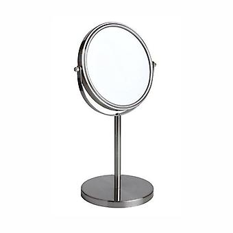 FMG Pedastal 15cm Mirror True Image & 3x Magnification - Nickel
