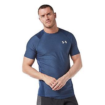 New Under Armour Men's MK-1 Short Sleeve T-Shirt Blue