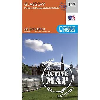 Glasgow by Ordnance Survey - 9780319472149 Book