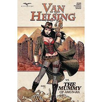 Van Helsing vs The Mummy of Amun - Ra by Patrick Shand - 978194227554