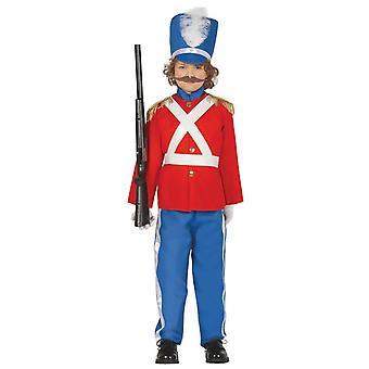 Pojkar Little Soldier fancy Dress kostym