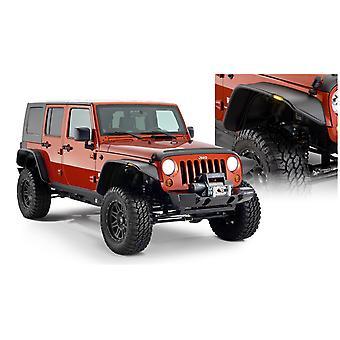 Bushwacker 10918-07 FF Jeep Flat Sty 2Pc