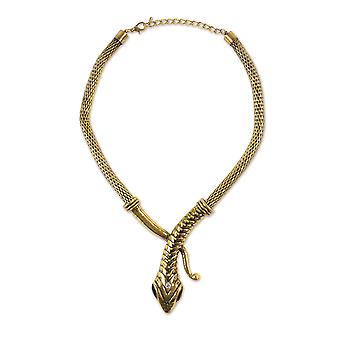 Bristol Novelty Unisex Adults Snake Necklace