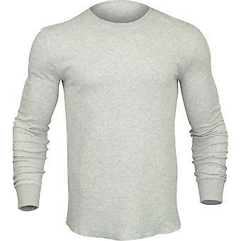 Quiksilver mens Hakone långärmad skjorta-ljusgrå Ljung