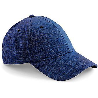 Beechfield-spacer mergel stretch-fit Baseballpet-hoed