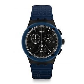 Swatch X-district Blue Herrenchronograph (SUSB418)