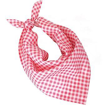 Diamantes de chal bufanda rosa vaquero