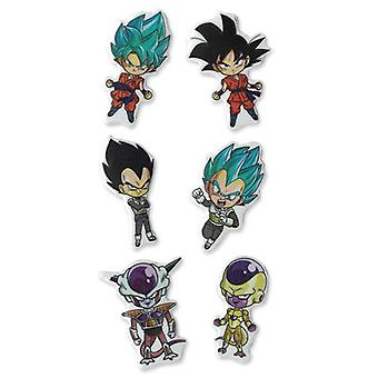 Sticker - Dragon Ball Super - Ressurection F SD Group Puffy Set Licensed ge55636