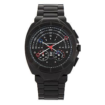 MORPHIC M79 serie chronograaf armband horloge-zwart