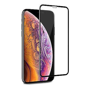 iPhone Xr - 11 Screenprotector أسود - الزجاج المقسى 2.5D