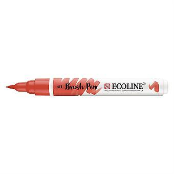 Talens Ecoline Liquid Watercolour Brush Pen - 411 Burnt Sienna