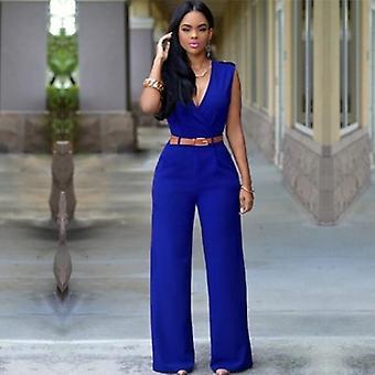 Jumpsuit Streetwear Plus Size Breites Bein