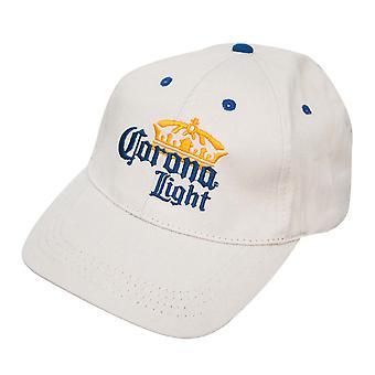 Corona Light Beige Logo Cappello