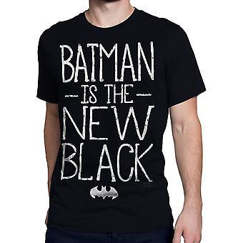 バットマンは新しい黒人男性's Tシャツです
