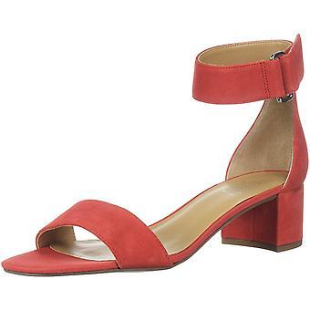 Franco Sarto Women's Rosalina Heeled Sandal, red Apple, 11 M US