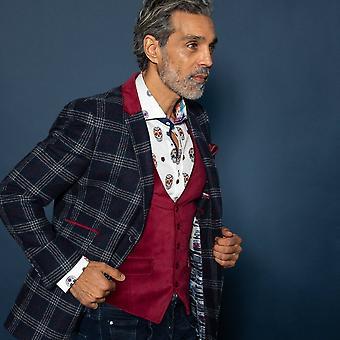 CLAUDIO LUGLI Waistcoats For Check Tweed Jacket
