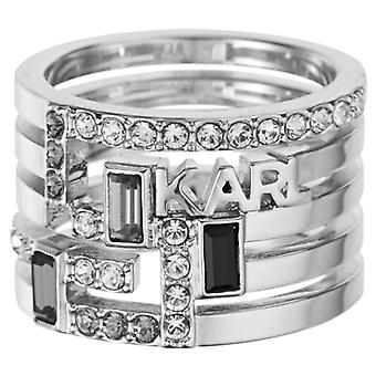Karl Lagerfeld Woman Brass Not Available Ring Size 18 5512186