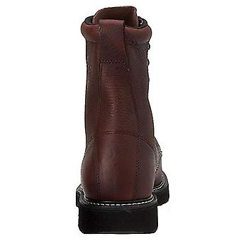 Fin & Feather Mens Leather Closed Toe Ankle Safety Boots