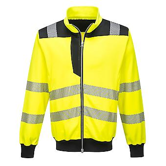 Portwest - PW3 Hi-Vis Workwear Zipped Sweatshirt