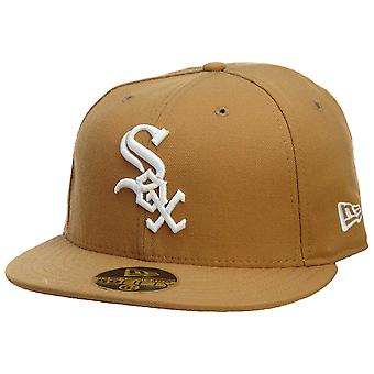 New Era Chicago White Sox Fitted Hat Mens Style : Hat455