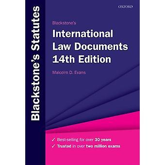 Blackstones International Law documenten door Malcolm Evans