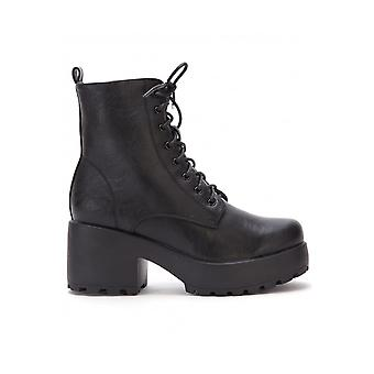 Koi Footwear Thick Soled Lace Up Boot