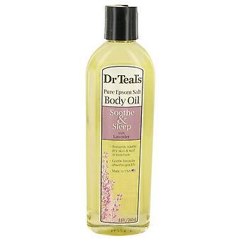 Dr teal's óleo de banho sooth & sleep with lavanda puro epsom salt body oil sooth & sleep with lavanda by dr teal's 534556 260 ml