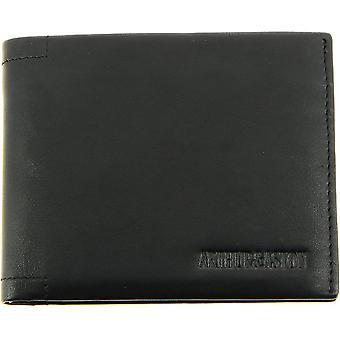 Currency Door And Cards A/Black - Herren - Leder