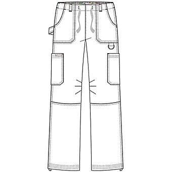 KOI Femei's Lindsey Ultra Comfortable Cargo Style Scrub Pantaloni (Dimensiuni Înalte), B...
