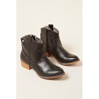Low boots Black Mustang Woman 58412