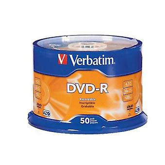 Verbatim Dvd R 50Pk Spindle 4Gb 16X