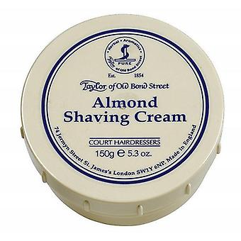 Taylor Of Old Bond Street Shaving Cream Pot 150g - Almond