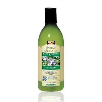 Avalon Organics - Rosemary Bath & Shower Gel 350ml