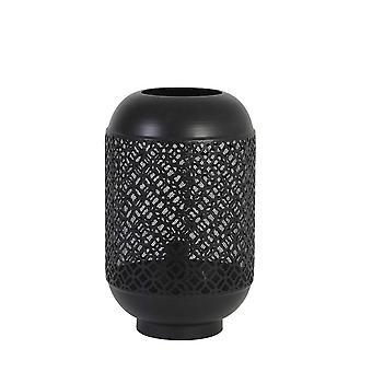 Light & Living Table Lamp 25.5x41.5cm Santora Matt Black